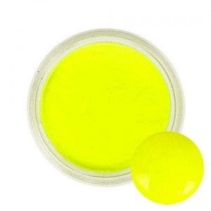 aki140 i-nails Akryl kolorowy Neonowy 3g - Bright Yellow
