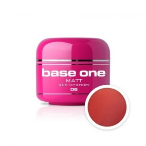 05 Silcare Base One MATT Żel UV kolor 5g - Red Mystery
