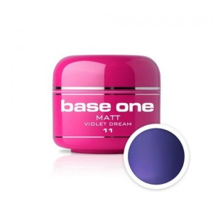 11 Silcare Base One MATT Żel UV kolor 5g - Violet Dream