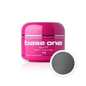 13 Silcare Base One MATT Żel UV kolor 5g - Grey Shades