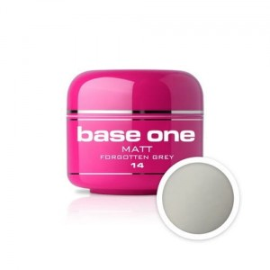 14 Silcare Base One MATT Żel UV kolor 5g - Forgotten Grey