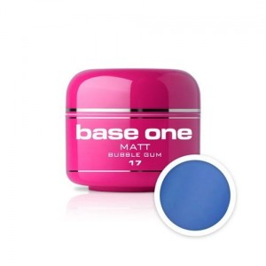 17 Silcare Base One MATT Żel UV kolor 5g - Bubble Gum