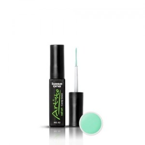 02 Silcare Base One Artisto Nail Art 10g - Candy Green