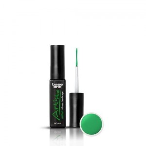 03 Silcare Base One Artisto Nail Art 10g - Green Landscape