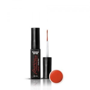 06 Silcare Base One Artisto Nail Art 10g - Flashy Red