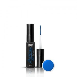 14 Silcare Base One Artisto Nail Art 10g - Blue Velvet