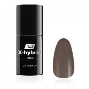19 i-nails Żel hybrydowy NO WIPE X-hybrid 6ml Warm Granite