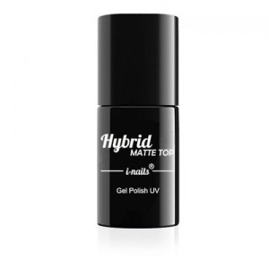 Żel hybrydowy i-nails Hybrid MATTE TOP 6ml