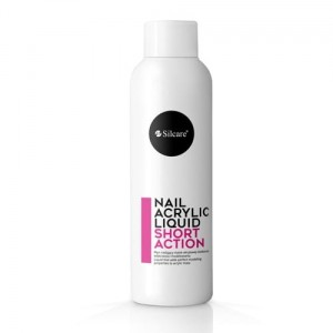 Silcare Nail Acrylic Liquid Short Action 100ml