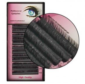 Rzęsy Mink Professional Eyelashes D 0.07mm 12mm