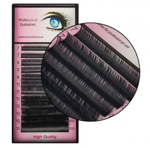 Rzęsy Mink Professional Eyelashes C 0.15mm 7-15mm