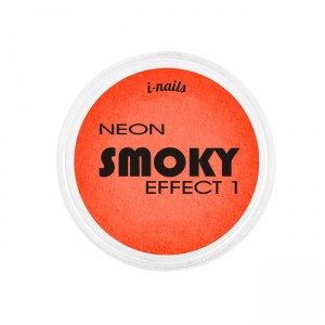 i-nails NEON Smoky Effect 1 Pyłek oranż