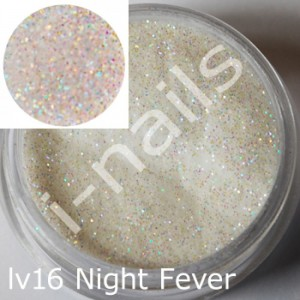 Akryl i-nails LAS VEGAS 5g kolorowy z brokatem lv16 Night Fever