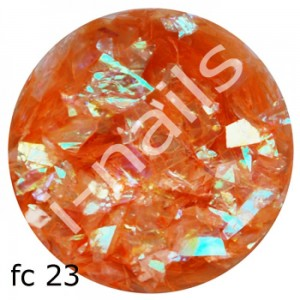 Folia cięta mermaid flakes fc23 Orange