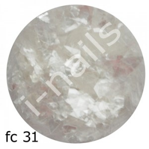 Folia cięta mermaid flakes fc31 Clear
