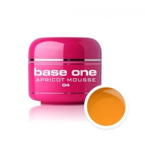 04 Silcare Base One COLOR Żel UV kolor 5g - Apricot Muss