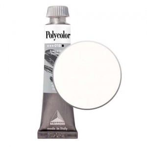 POLYCOLOR Farbka akrylowa do zdobnictwa 20ml 018 Titanium White