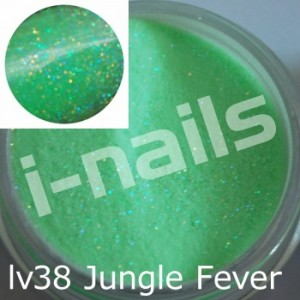 Akryl i-nails LAS VEGAS 5g kolorowy z brokatem lv38 Glitter Jungle Fever