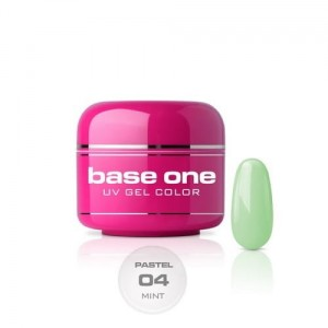 04 Silcare Base One PASTEL Żel UV kolor 5g - Mint