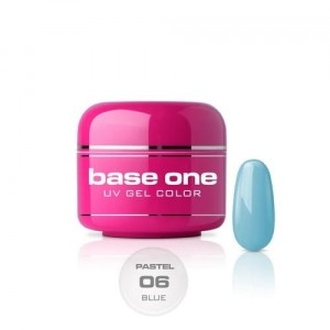 06 Silcare Base One PASTEL Żel UV kolor 5g - Blue