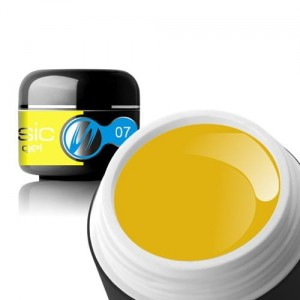 07 Sillcare BASIC COLOR Żel UV kolor 5g - Yellow