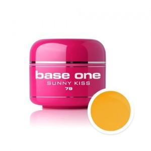 79 Silcare Base One COLOR SUMMER Żel UV kolor 5g - Sunny Kiss
